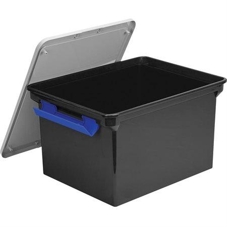 Boîte de rangement noir