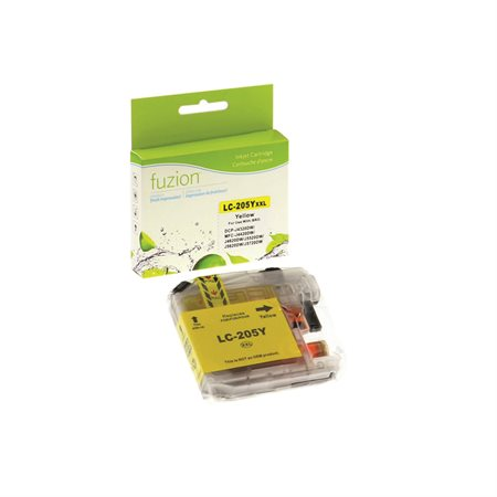 Cartouche compatible Brother LC205XXL jaune