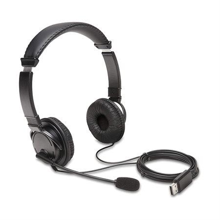 Casque d'écoute Hi-Fi Kensington® avec microphone