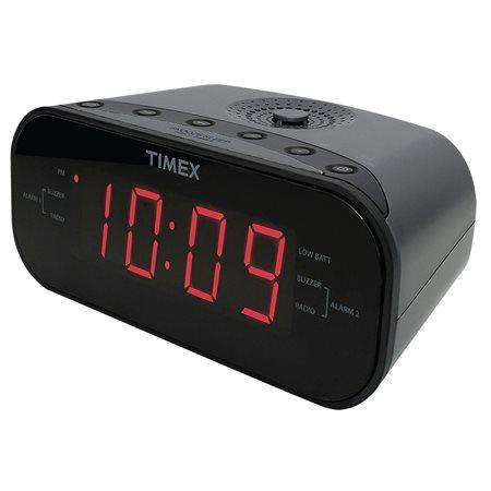 Radio-réveil double alarme