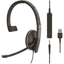 Wired Binaural USB Headset