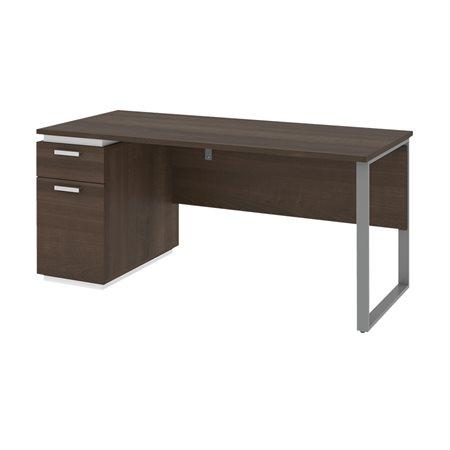 Aquarius Desk with Single Pedestal