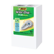Wite-out® ecolutions™ Mini Correction Tape box of 10