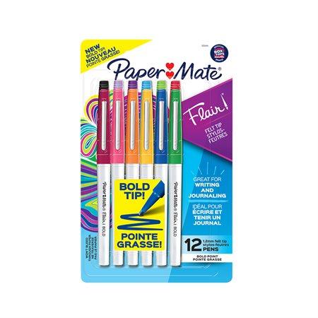 Marqueur Flair® 12 couleurs