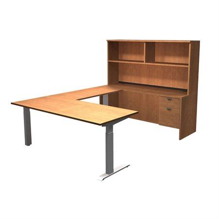 Innovation U-Shaped Workstation with Height Adjustable Desk