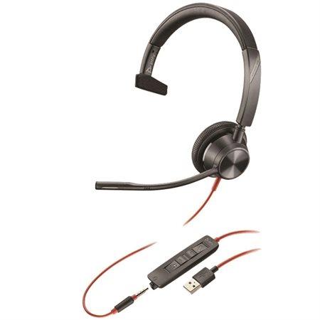 Casque Blackwire 3315 Mono USB-A