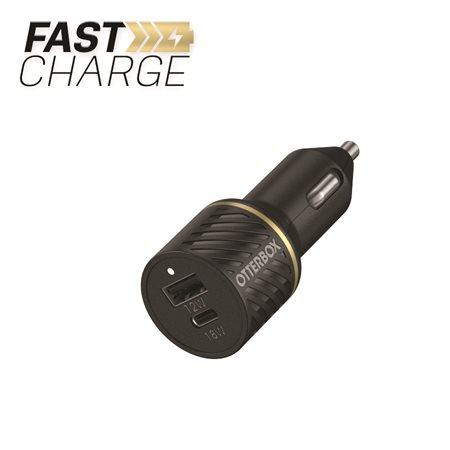 Chargeur de voiture haut de gamme à double charge rapide