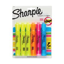 Tank Highlighter Package of 6 assorted colours