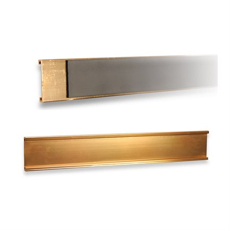 Wall Name Holder Magnetic  1 X 7'' Gold