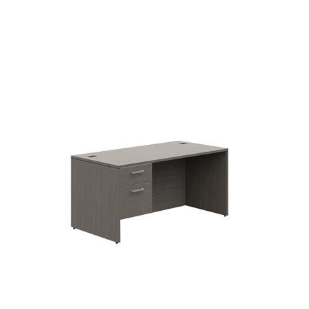 Bureau à caisson simple Ionic MLP111