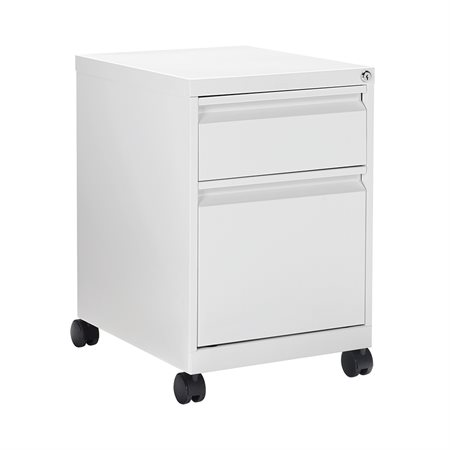 METAL MOBILE BOX 1 DRAWER WHT