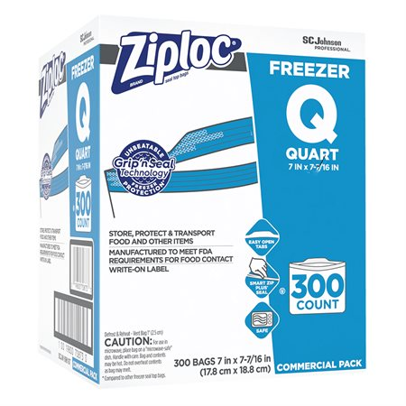 Sacs Ziploc Pro pour congélateur