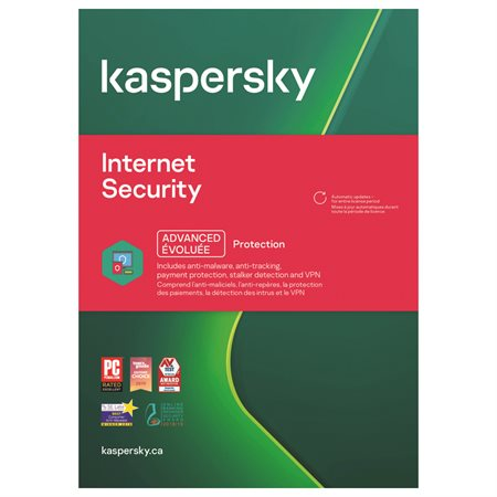 Kaspersky 3 user Internet Security