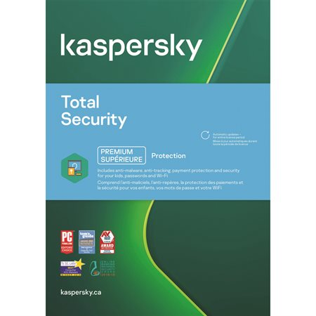 Kaspersky Total Security for 5 users