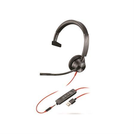 Blackwire 3315 USB-A Mono Headset