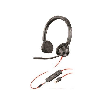 Casque d'écoute stéréo USB-A Blackwire 3325