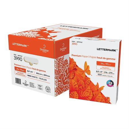 Papier à usages multiples Lettermark® 24 lb. Paquet de 500 lettre