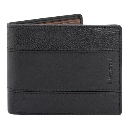 Leather Wallet with Removable Flap