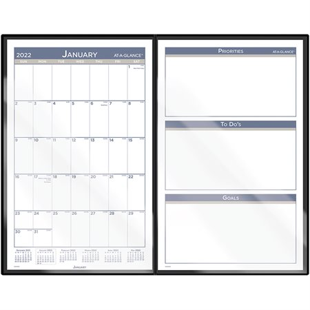 Monthly Foldable Desk Pad (2022)