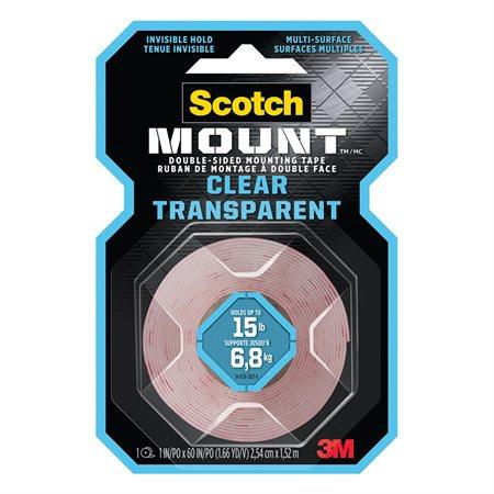 Ruban de montage transparent double face Scotch-Mount ™