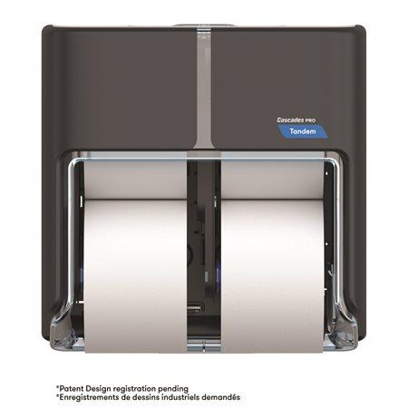 Distributeur de papier hygiénique Cascades PRO Tandem™  grande capacité à quatre rouleaux