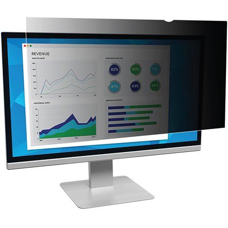 3M™ Monitor Black Privacy Filter