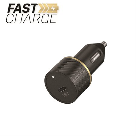 Premium Fast Charge Power Delivery Car Charger USB-C 18W