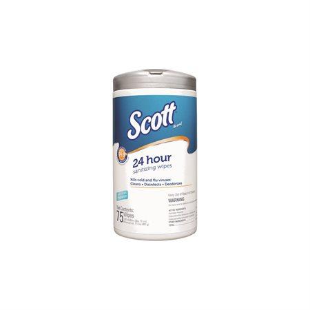 Lingettes désinfectantes 24 heures de Scott®