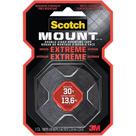 Ruban de montage à double face adhésive pour applications extrêmes Scotch-Mount™
